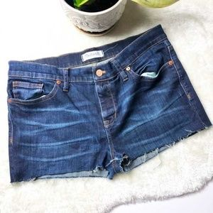 🆕 Madewell | Raw hem Jean Shorts Size 31